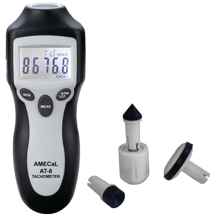 AT-8 High Accuracy Tachometer Amecal - AML Instruments