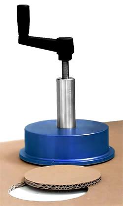 Circular Sample Cutter Gsm Fct Moisture Aml Instruments