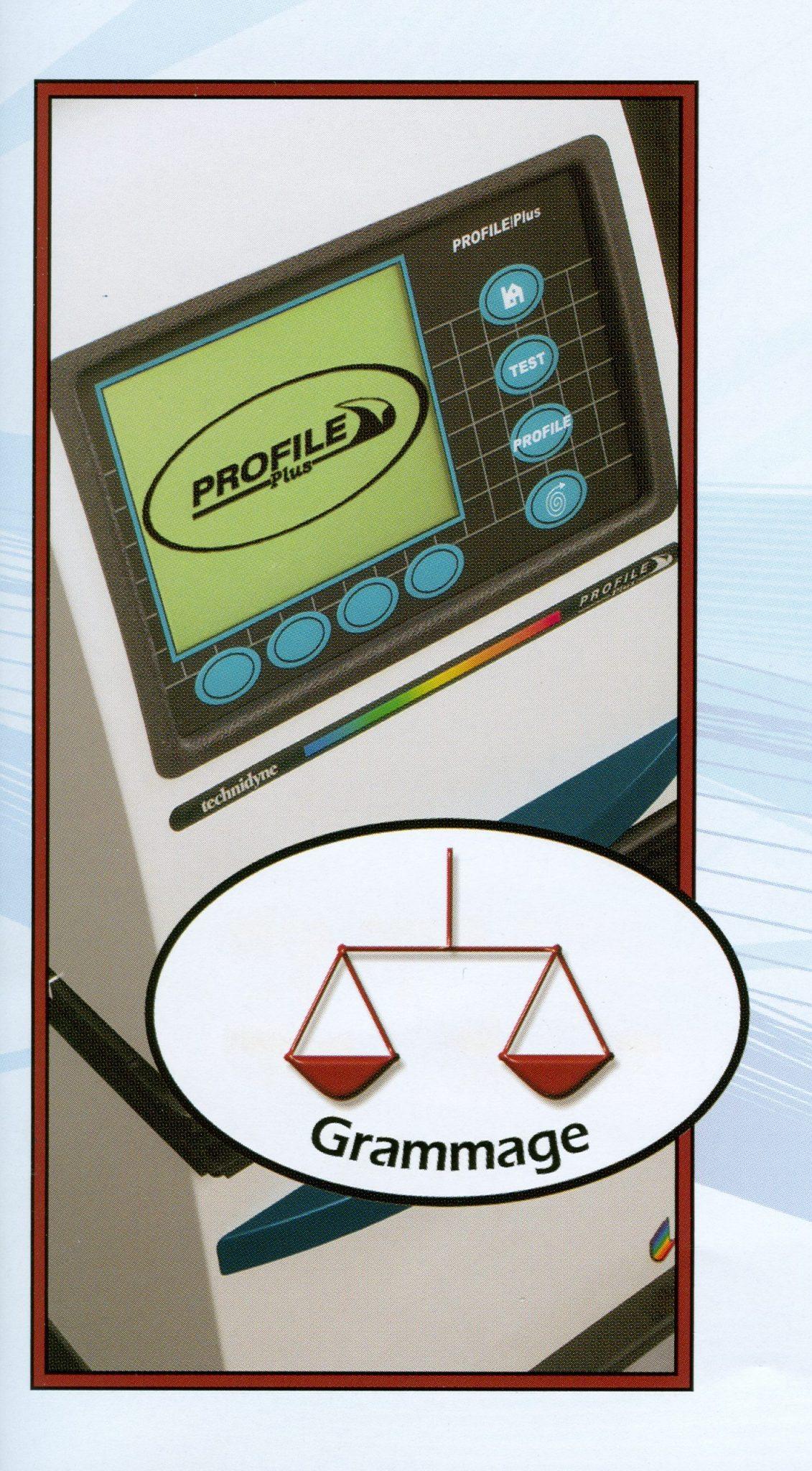 PROFILE Plus Grammage – Technidyne