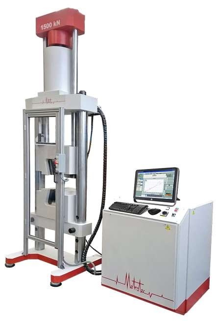 Instrument And Machine Testers : Servo hydraulic universal testing machine sth cs aml