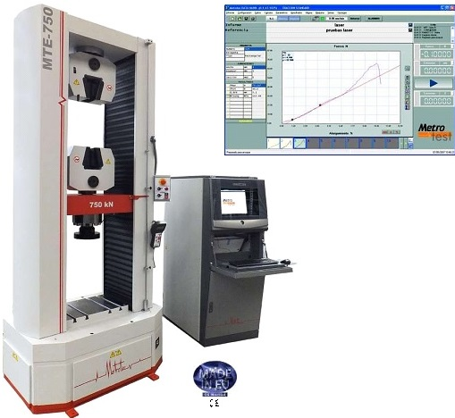 Instrument And Machine Testers : Universal testing machine to kn aml instruments
