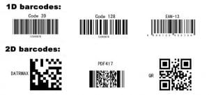 1D Barcode 2D Barcodes Verification